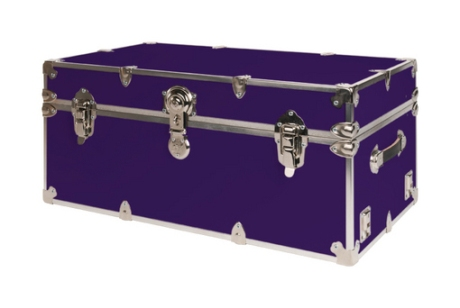 Purple College Dorm Trunk
